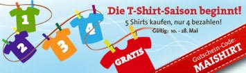 T-Shirt Rabatt